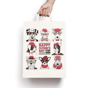 Father's Day Paper Gift Bag