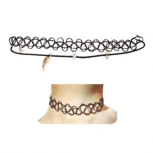 Choker Necklace Pair of 2