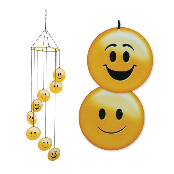 Emoti Happy Face Windchime