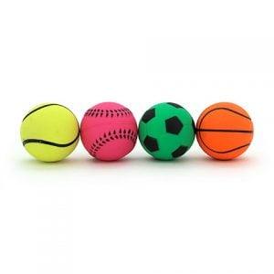 Neon Sports Bounce Ball