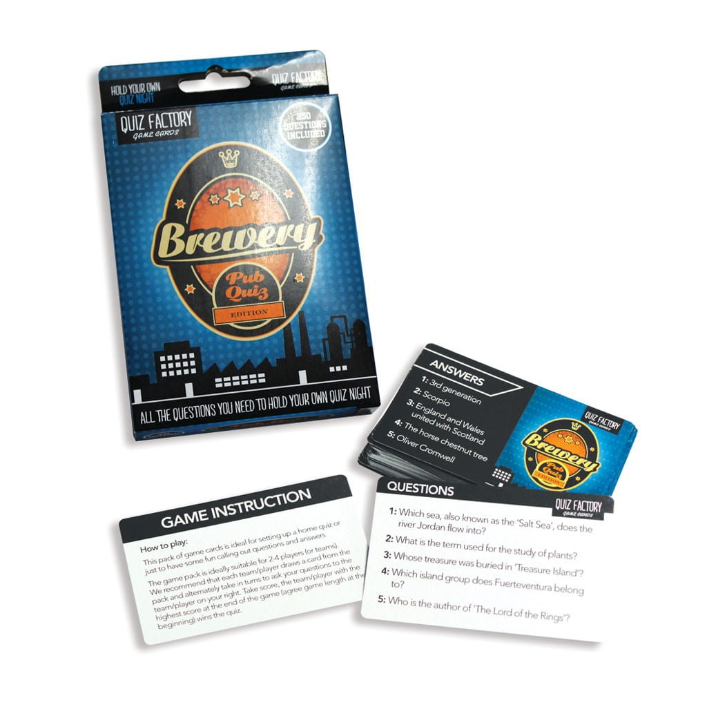 Quiz Factory Card Game