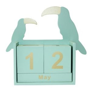 Toucan Perpetual Desk Calendar