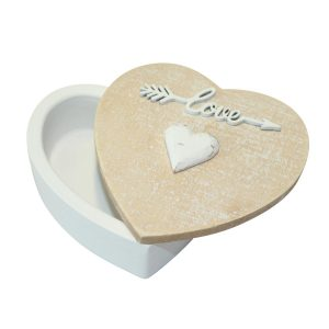 Country Heart Trinket Box