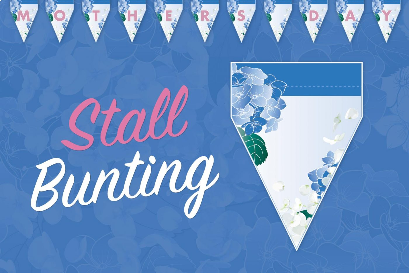 Mother's Day Stall Bunting