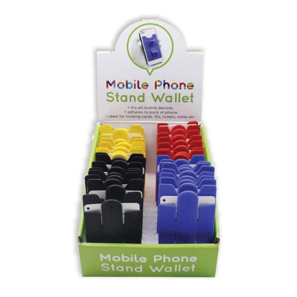 Mobile Phone Wallet & Stand